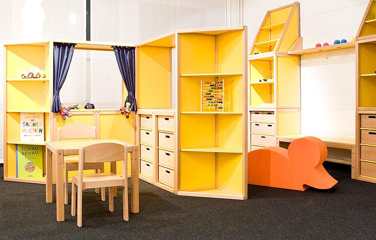 Kindermöbel holz  Fotostrecke: Stauraumsystem von Flötotto - Bild 19 - [SCHÖNER WOHNEN]