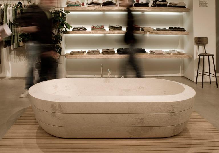 naturstein badewanne cnc von zaninelli bild 17 sch ner wohnen. Black Bedroom Furniture Sets. Home Design Ideas