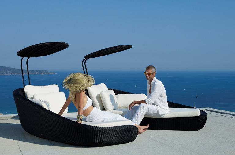 sonnenliege savannah bei cane line sch ner wohnen. Black Bedroom Furniture Sets. Home Design Ideas