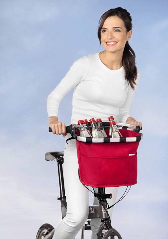 fahrradkorb bikebasket plus von reisenthel sch ner wohnen. Black Bedroom Furniture Sets. Home Design Ideas