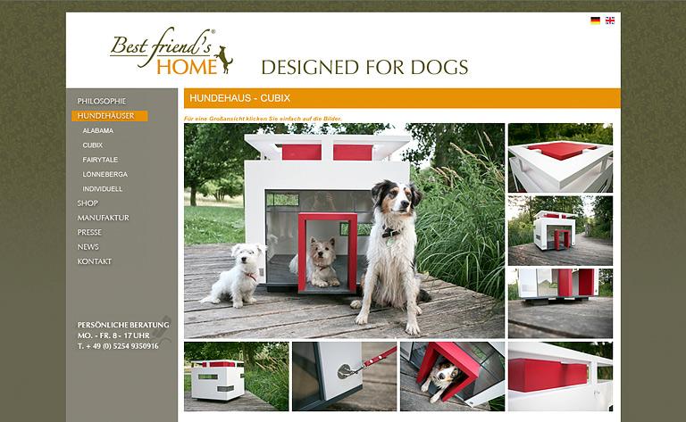 Luxus Hundehutte Im Bauhausstil Schoner Wohnen