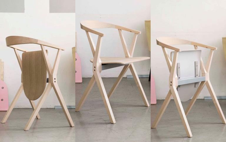 Stuhl b von konstantin grcic bei bd design sch ner for Stuhl design buch