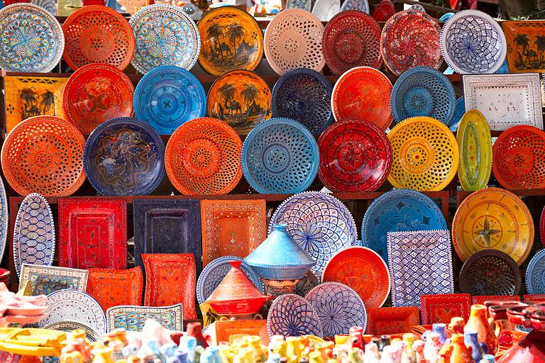 Marokkanisches Geschirr auftischen - Bild 12 - [SCHu00d6NER ...