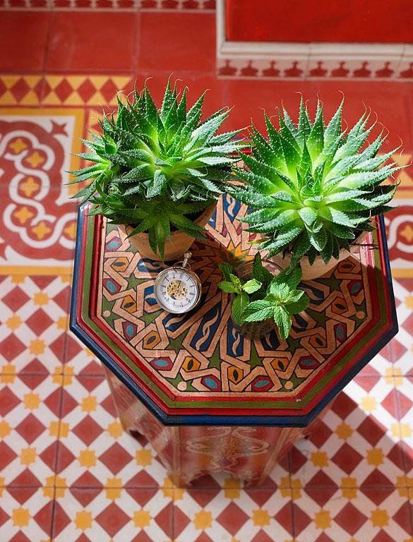 Orientalischer Einrichtungsstil - Materialien, Muster und Farben ...