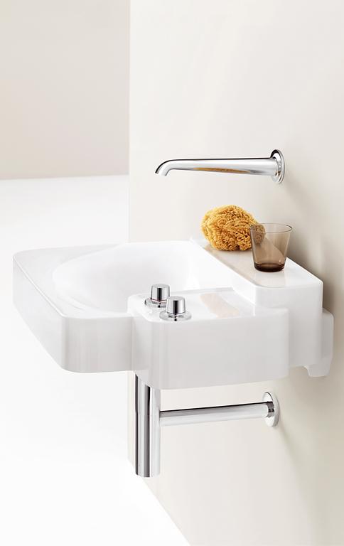 kleiner waschtisch f r das g ste wc bild 7 sch ner wohnen. Black Bedroom Furniture Sets. Home Design Ideas