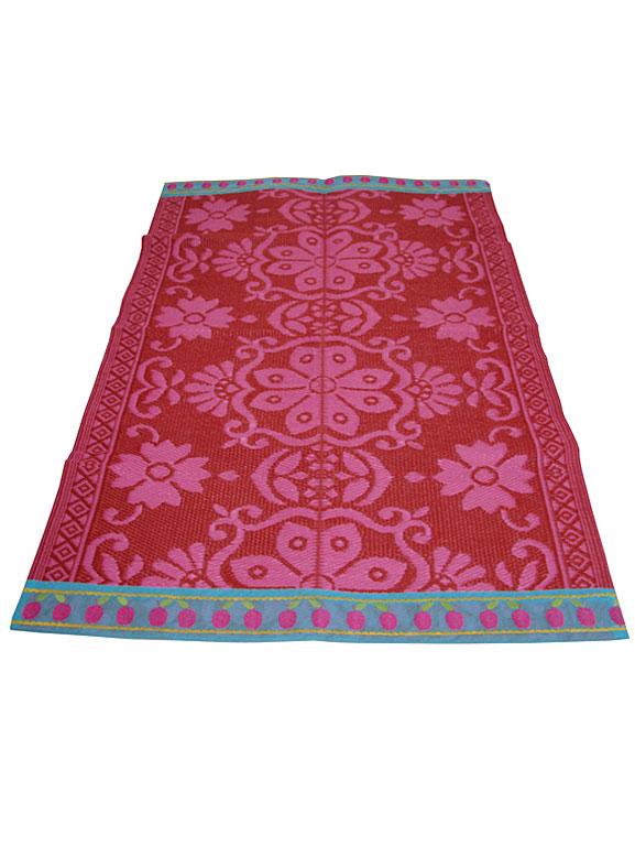wohnen mit farbe mustermix teppich von rice bild 7 sch ner wohnen. Black Bedroom Furniture Sets. Home Design Ideas