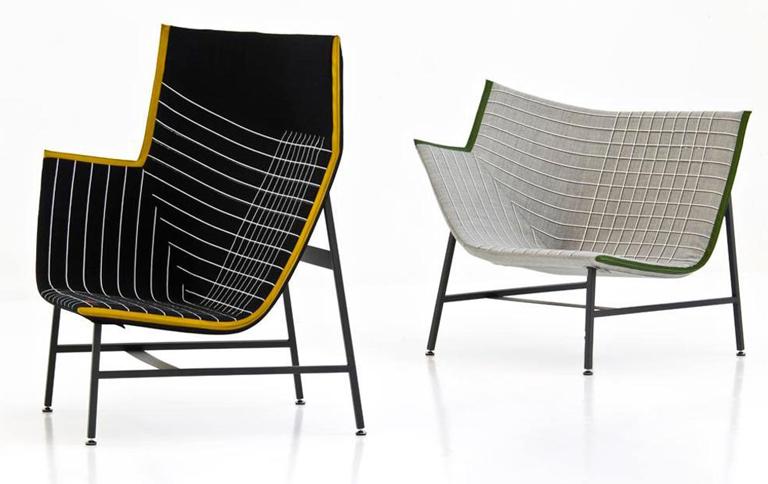 sessel mit einer ecke bei moroso sch ner wohnen. Black Bedroom Furniture Sets. Home Design Ideas