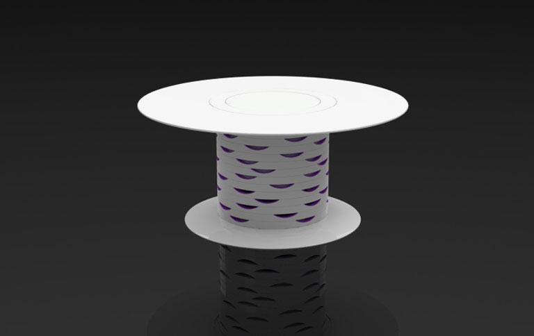 Gorenje Kühlschrank Lila : Kühlschrank tisch in lila [schÖner wohnen]