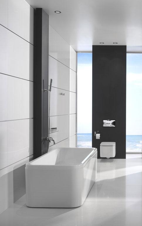 produkt guide gro formatige fliesen sch ner wohnen. Black Bedroom Furniture Sets. Home Design Ideas