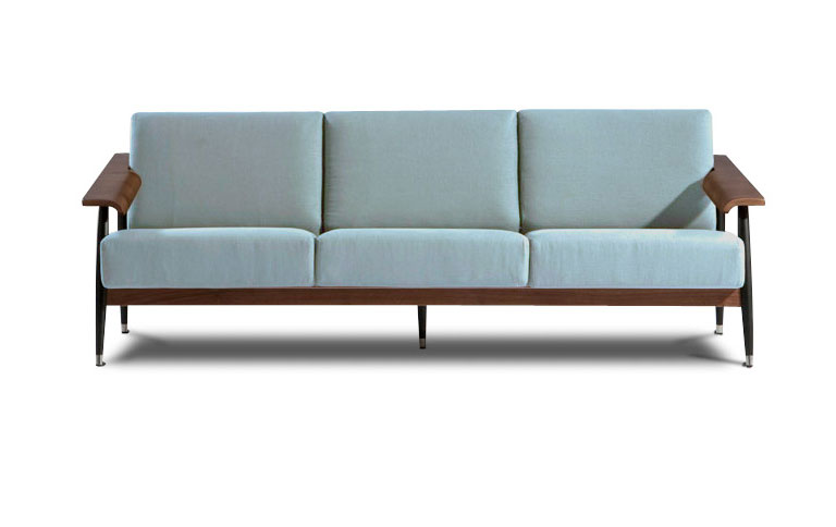 sofa im sixties stil sch ner wohnen. Black Bedroom Furniture Sets. Home Design Ideas