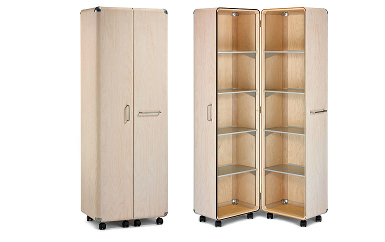 flugzeugsperrholz wird zum schrankkoffer sch ner wohnen. Black Bedroom Furniture Sets. Home Design Ideas