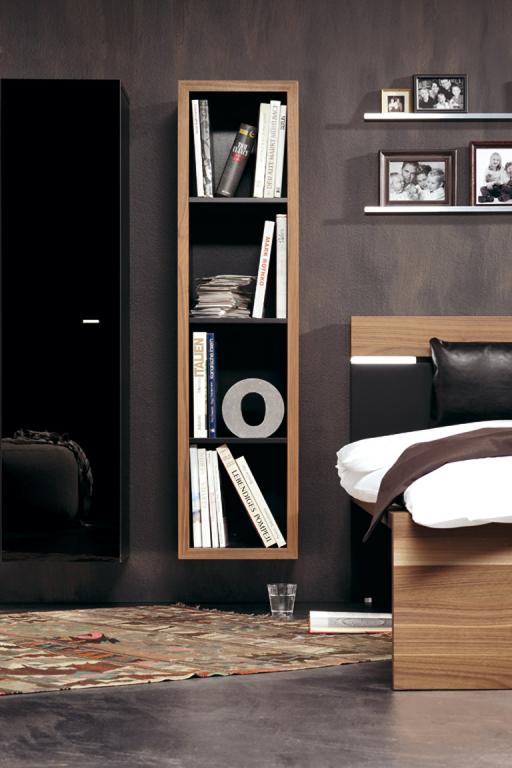 regal tr by von ikea mit eschenfurnier wohnen mit regalen 34 sch ner wohnen. Black Bedroom Furniture Sets. Home Design Ideas