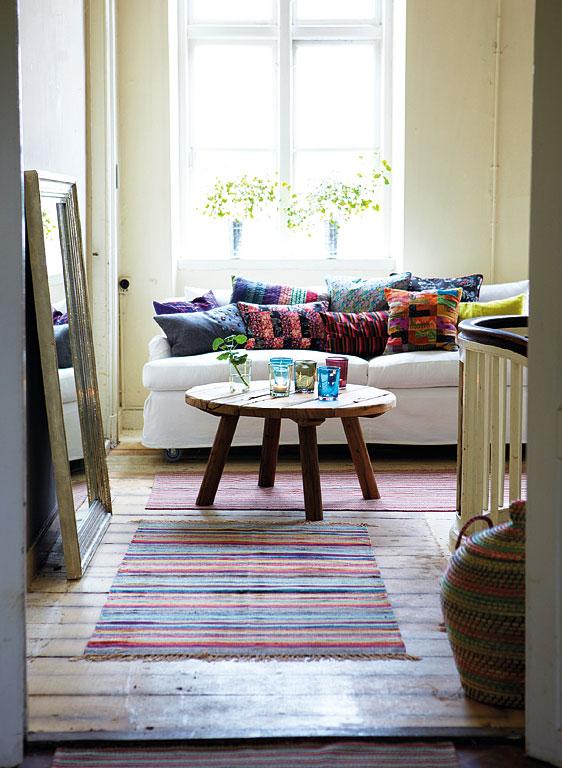 wohnen mit farben muster und farben kombinieren sch ner wohnen. Black Bedroom Furniture Sets. Home Design Ideas