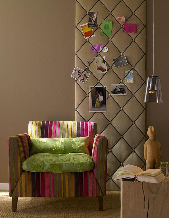 Graue Tapeten Kombinieren : Wohnen mit Farben – Muster und Farben kombinieren – [SCH?NER WOHNEN]