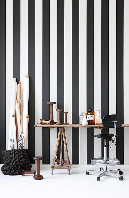 20 deko tipps neuer look mit vliestapeten bild 11 sch ner wohnen. Black Bedroom Furniture Sets. Home Design Ideas