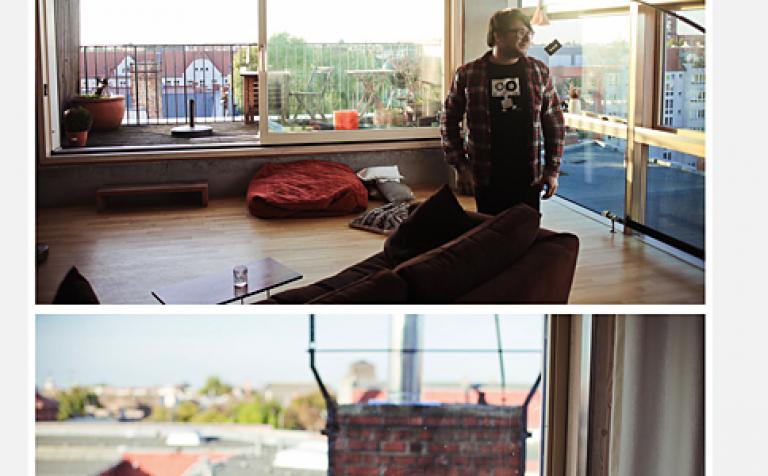 das apartment von conrad fritzsch sch ner wohnen. Black Bedroom Furniture Sets. Home Design Ideas