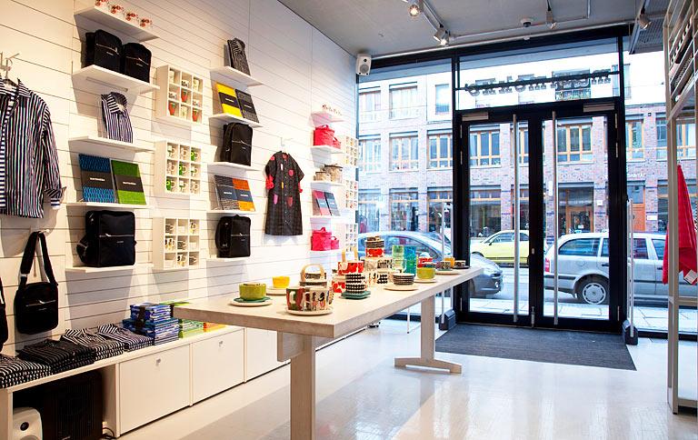 marimekko er ffnet flagship store in berlin sch ner wohnen. Black Bedroom Furniture Sets. Home Design Ideas