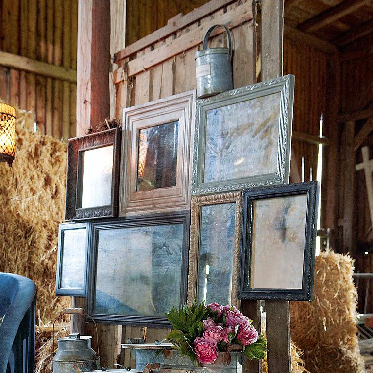 nostalgischer patchwork spiegel bild 12 sch ner wohnen. Black Bedroom Furniture Sets. Home Design Ideas