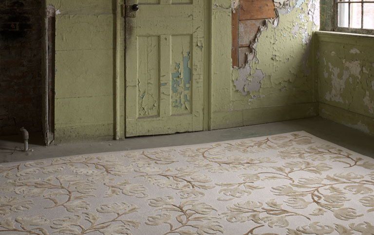 klassische teppiche in modernem gewand sch ner wohnen. Black Bedroom Furniture Sets. Home Design Ideas