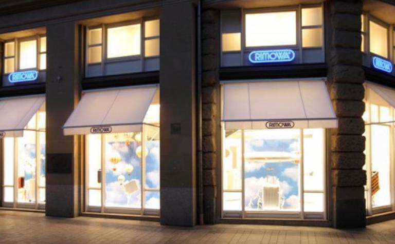 neuer flagship store von rimowa sch ner wohnen. Black Bedroom Furniture Sets. Home Design Ideas