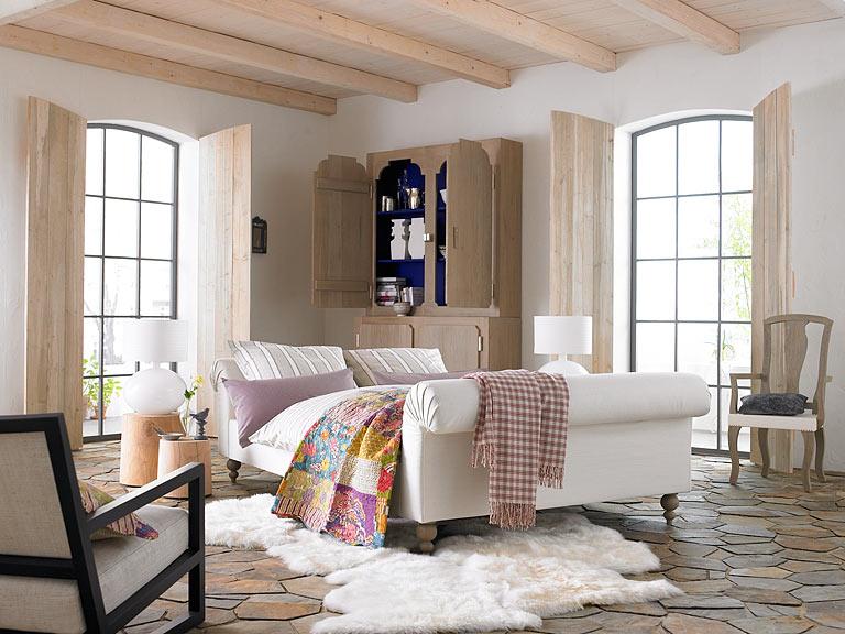 wohnen mit farben helles holz und fliesen zu wei bild 9 sch ner wohnen. Black Bedroom Furniture Sets. Home Design Ideas