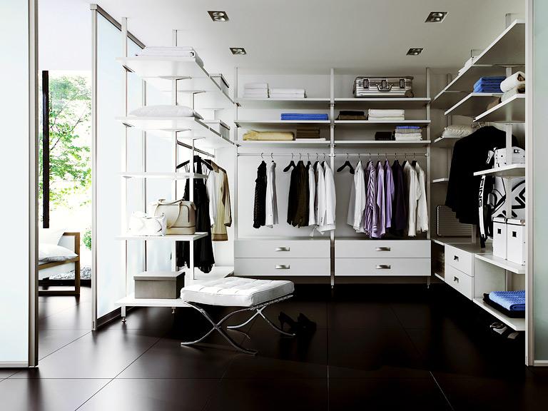 Super Anbieter und Systeme von begehbaren Kleiderschränken - [SCHÖNER KU03