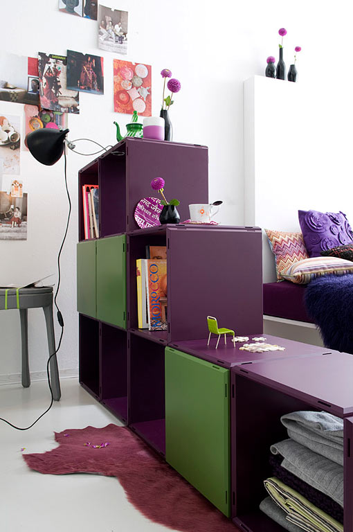 mit raumteilern r ume strukturieren sch ner wohnen. Black Bedroom Furniture Sets. Home Design Ideas