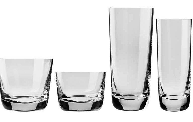 Gläser  Klare Form für schöne Gläser - [SCHÖNER WOHNEN]