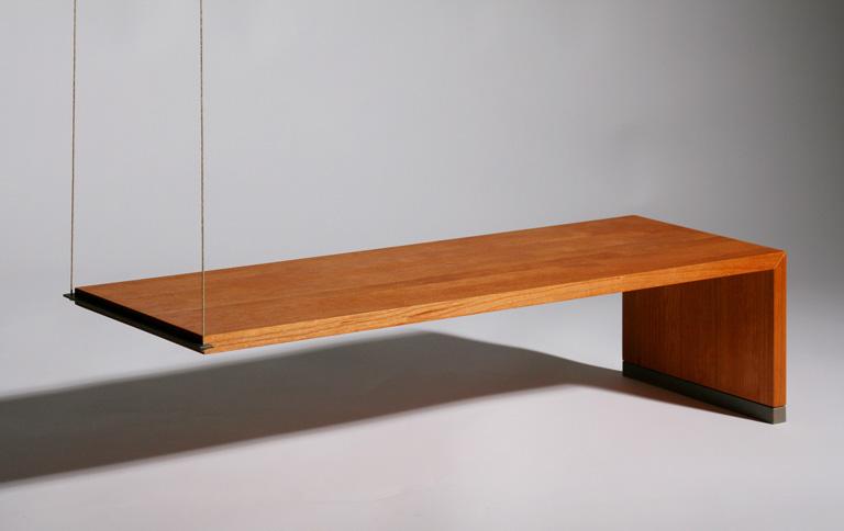 schlichte tische mit gro er wirkung sch ner wohnen. Black Bedroom Furniture Sets. Home Design Ideas