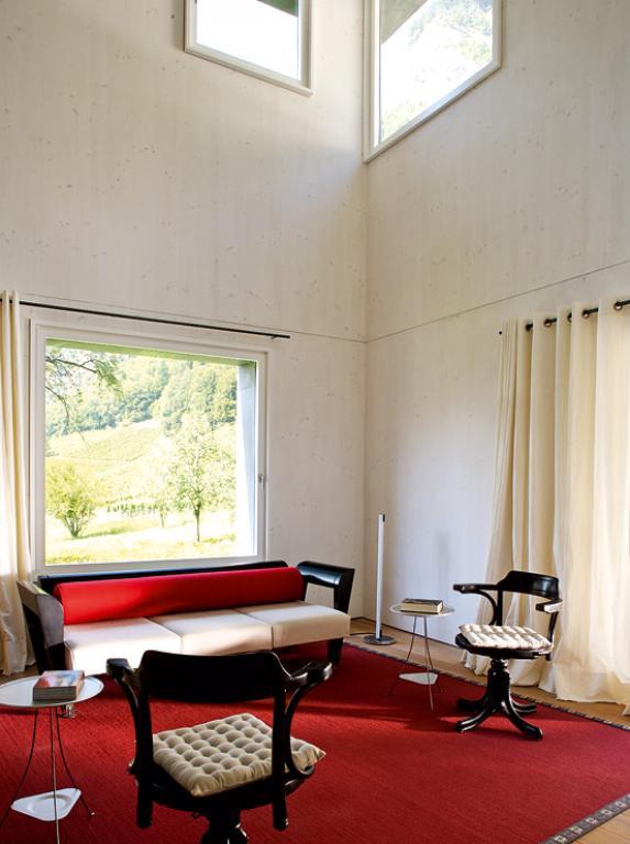 architektenh user bauernhaus mit monolithischem anbau. Black Bedroom Furniture Sets. Home Design Ideas
