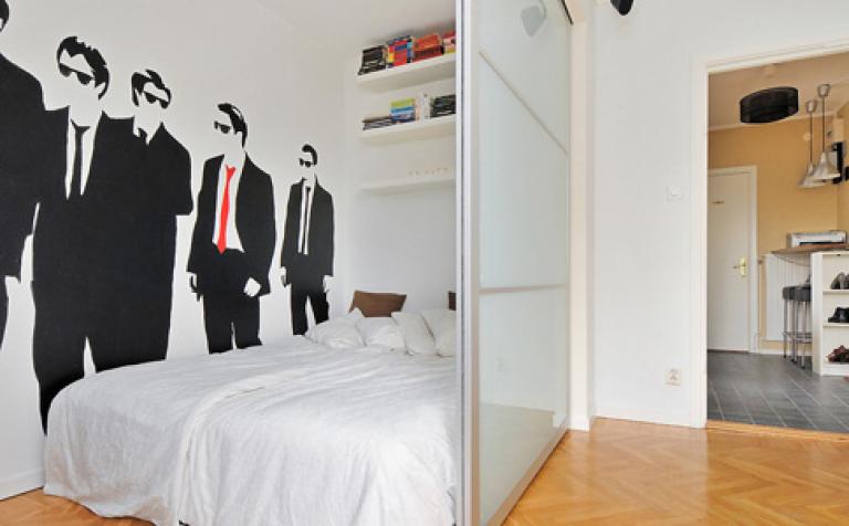 raumteiler aus ikea schrank sch ner wohnen. Black Bedroom Furniture Sets. Home Design Ideas