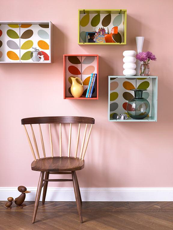 Birkenholz Farbe walnussholz mit rosé und retrofarben bild 9 schöner wohnen