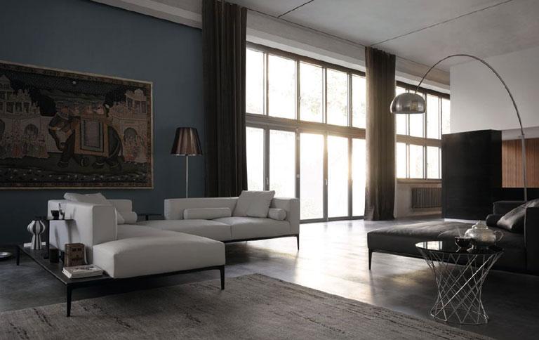 sofa mit integriertem tisch tipp des tages sch ner wohnen. Black Bedroom Furniture Sets. Home Design Ideas