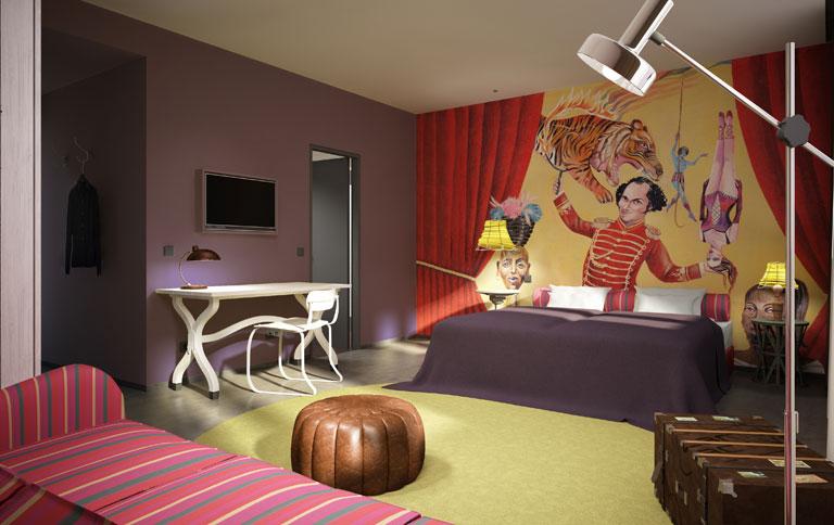 Neues Hotel In Wien Mit Zirkus Flair SCHNER WOHNEN