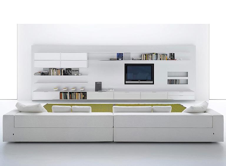 Wohnwände als flexible Systeme: Wohnwand \