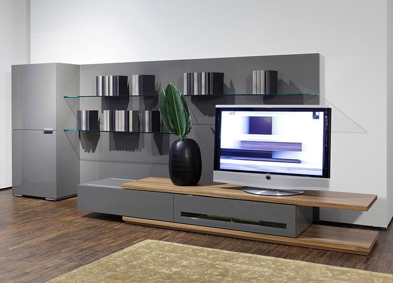 Wohnwände - moderne Modelle und flexible Systeme
