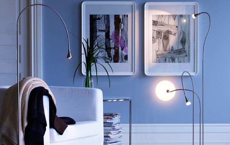 neue led leuchten bei ikea news sch ner wohnen. Black Bedroom Furniture Sets. Home Design Ideas