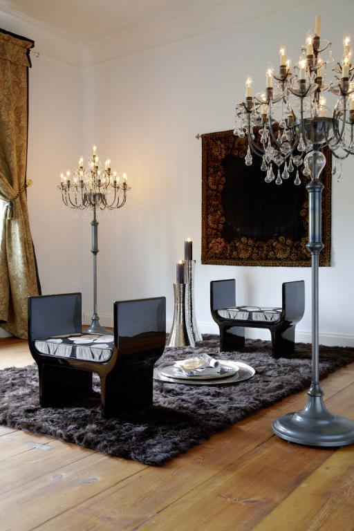 fotostrecke 12 glanzvolle kronleuchter sch ner wohnen. Black Bedroom Furniture Sets. Home Design Ideas