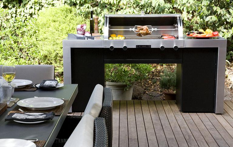 Luxus pur outdoor küche x series 2 von grandhall die x series von