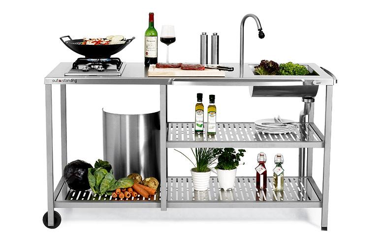 Fotostrecke: Gartenküche \