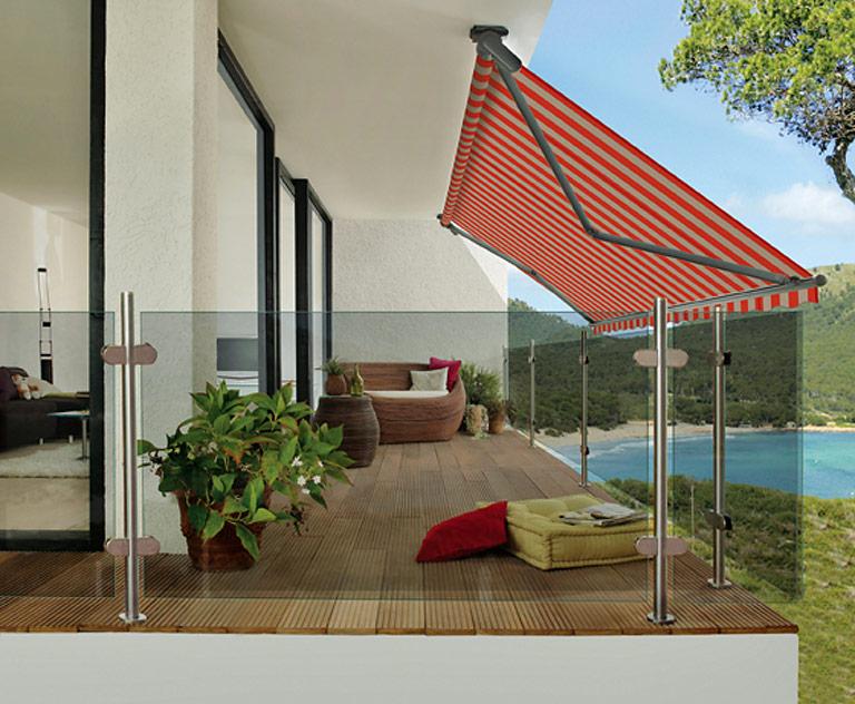 Balkonverkleidung und Sichtschutz für jeden Stil - [SCHÖNER ...