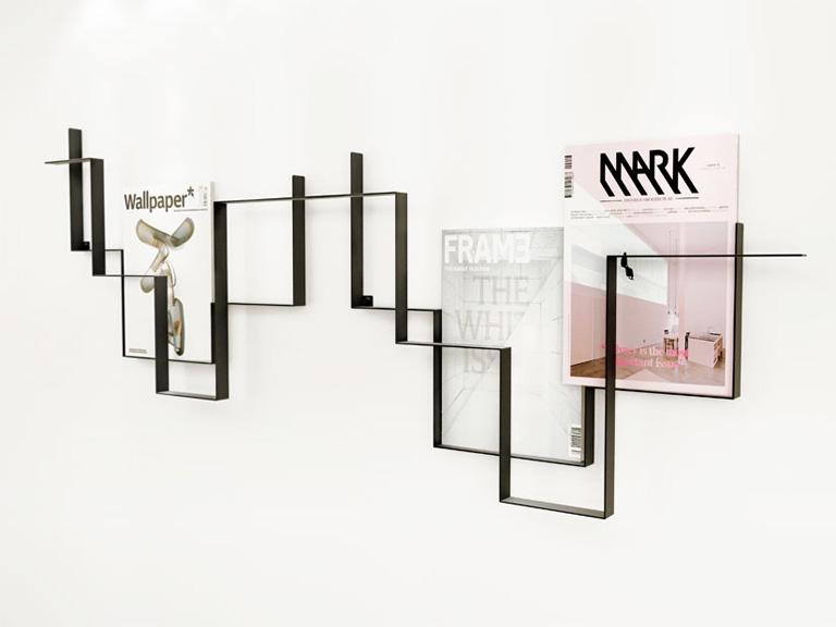 zeitschriftenhalter und st nder sch ner wohnen. Black Bedroom Furniture Sets. Home Design Ideas