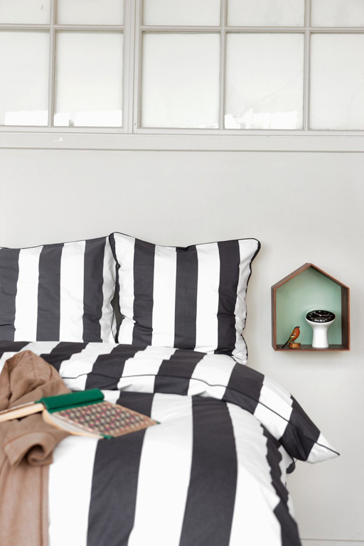 fotostrecke bettw sche vertigo von ferm living bild 9 sch ner wohnen. Black Bedroom Furniture Sets. Home Design Ideas