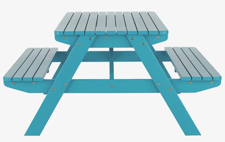 tisch mit sitzbank f r kinder sch ner wohnen. Black Bedroom Furniture Sets. Home Design Ideas