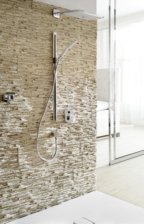 Fotostrecke duschgenuss auf ganzer breite bild 4 for Unterschied grohe hansgrohe