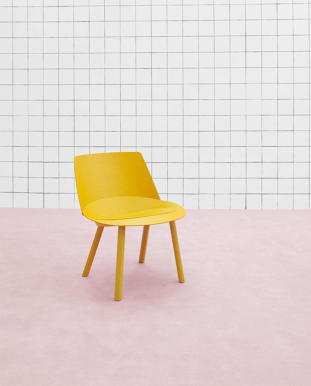 """Lust Auf Sommer: Zitronengelber Sessel """"EC04 LEO"""" Zu"""