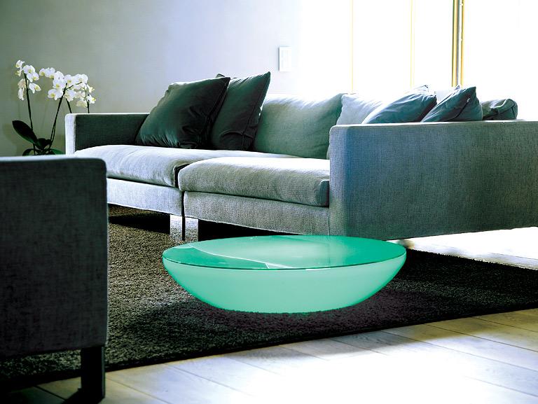 fotostrecke m bel mit led beleuchtung sch ner wohnen. Black Bedroom Furniture Sets. Home Design Ideas