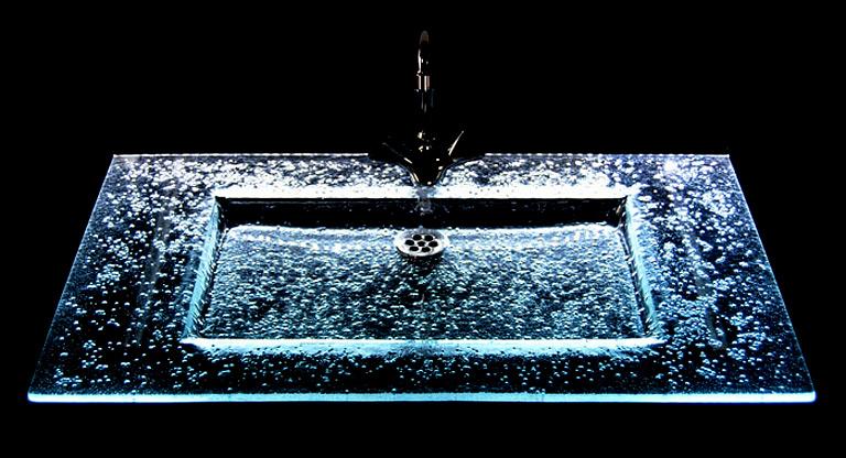 glaswachbecken miami von aquamiga der leuchtwaschtisch. Black Bedroom Furniture Sets. Home Design Ideas