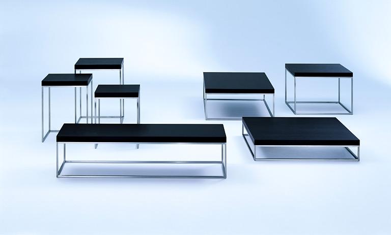 Möbel kaufen Couchtisch Madison Square von Wittmann  -> Couchtisch Glas Puristisch