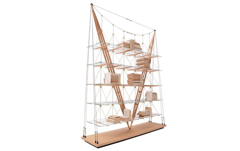 albini b cherregal veliero neu aufgelegt sch ner wohnen. Black Bedroom Furniture Sets. Home Design Ideas